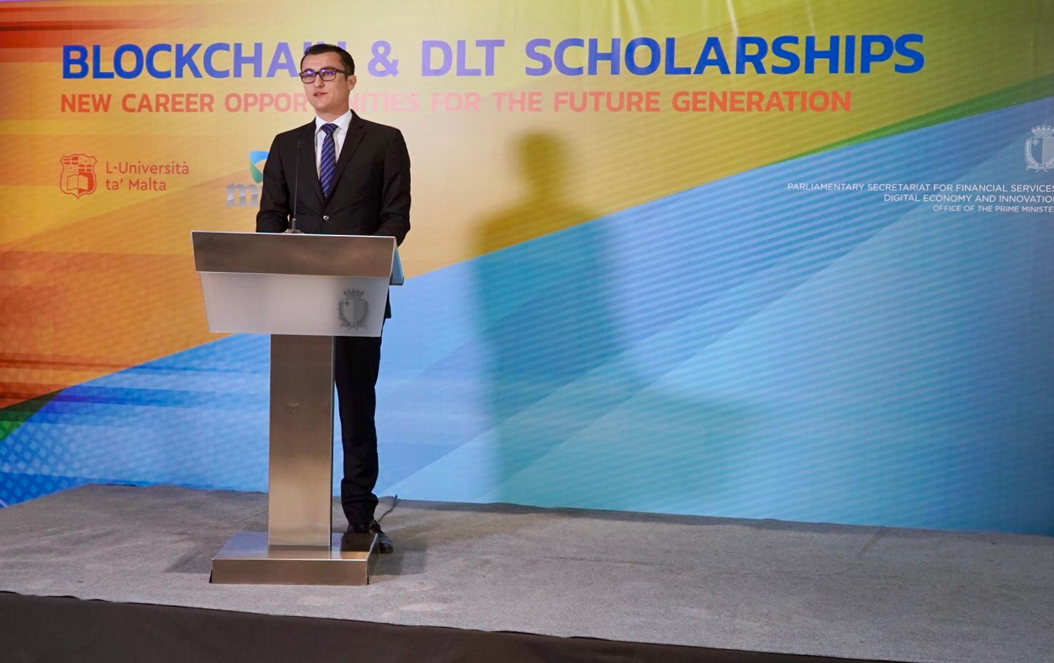 PRESS RELEASE BY THE PARLIAMENTARY SECRETARIAT FOR FINANCIAL SERVICES, DIGITAL ECONOMY AND INNOVATION:  Blockchain scholarship awarded to 19 students