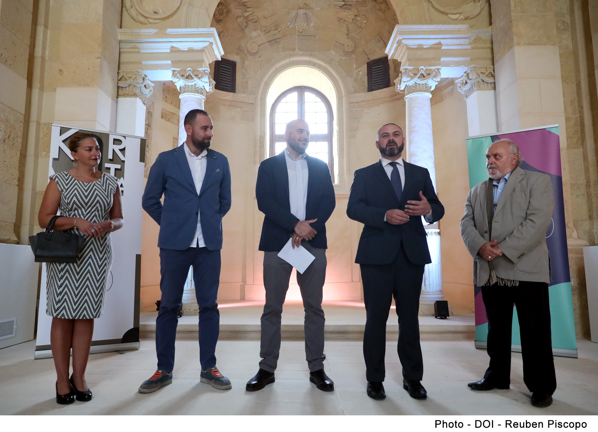 ​PRESS RELEASE BY THE MINISTRY FOR JUSTICE, CULTURE AND LOCAL GOVERNMENT:  Exciting projects planned for KorMalta's 2020 season