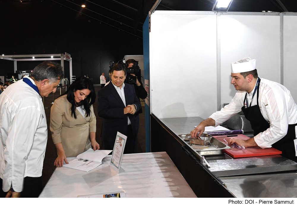 PRESS RELEASE BY THE MINISTRY FOR TOURISM AND CONSUMER PROTECTION  Minister for Tourism and Consumer Protection Julia Farrugia Portelli inaugurates the HORECA Seminar in The Malta Catering Expo 2020