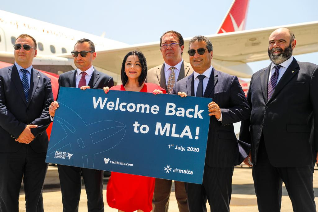 PRESS RELEASE BY THE MINISTRY FOR THE ECONOMY, INVESTMENT AND SMALL BUSINESSES AND BY THE MINISTRY FOR TOURISM AND CONSUMER PROTECTION  The re-opening of Malta International Airport