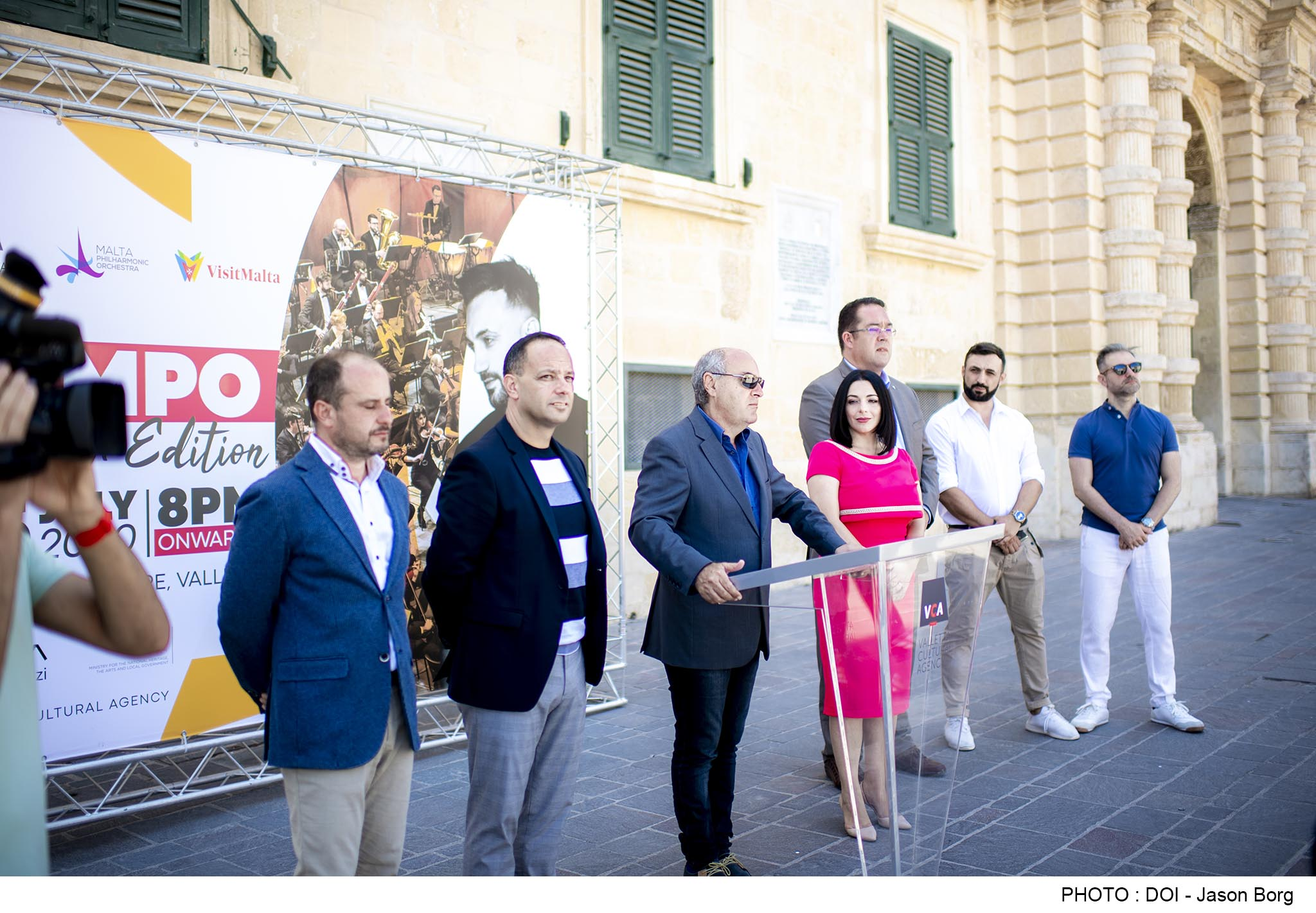 PRESS RELEASE BY THE MINISTRY FOR THE NATIONAL HERITAGE, THE ARTS AND LOCAL GOVERNMENT AND THE MINISTRY FOR TOURISM AND CONSUMER PROTECTION  Tenishia and Malta Philharmonic Orchestra together for Valletta concert