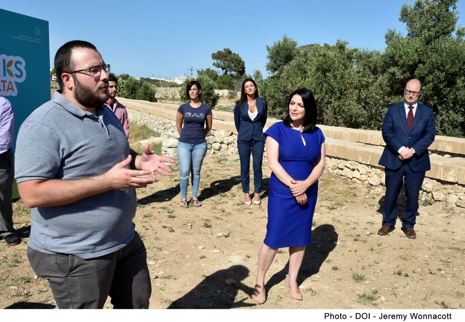 PRESS RELEASE BY THE MINISTRY FOR TOURISM AND CONSUMER PROTECTION AND THE PARLIAMENTARY SECRETARIAT FOR EUROPEAN FUNDS   Visit of the embellishment works in Wied Garnaw in Santa Luċija