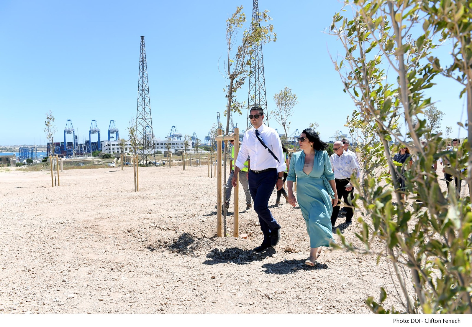 PRESS RELEASE BY THE MINISTRY FOR TOURISM AND CONSUMER PROTECTION AND BY THE MINISTRY FOR TRANSPORT, INFRASTRUCTURE AND CAPITAL PROJECTS  More than 2,200 trees planted in the new family park in Birżebbuġa