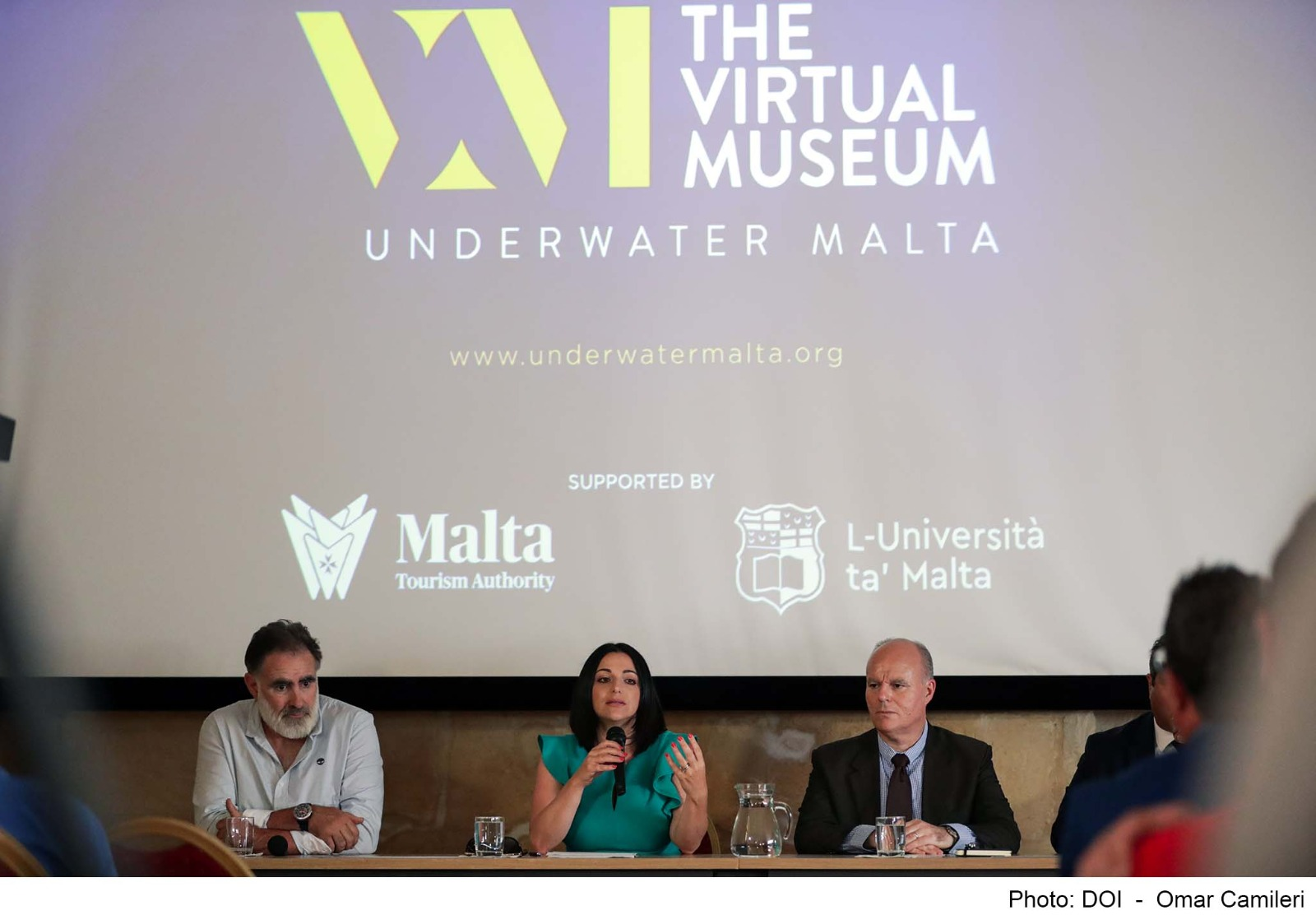 PRESS RELEASE BY THE MINISTRY FOR TOURISM AND CONSUMER PROTECTION: Free virtual access to historic sites underwater