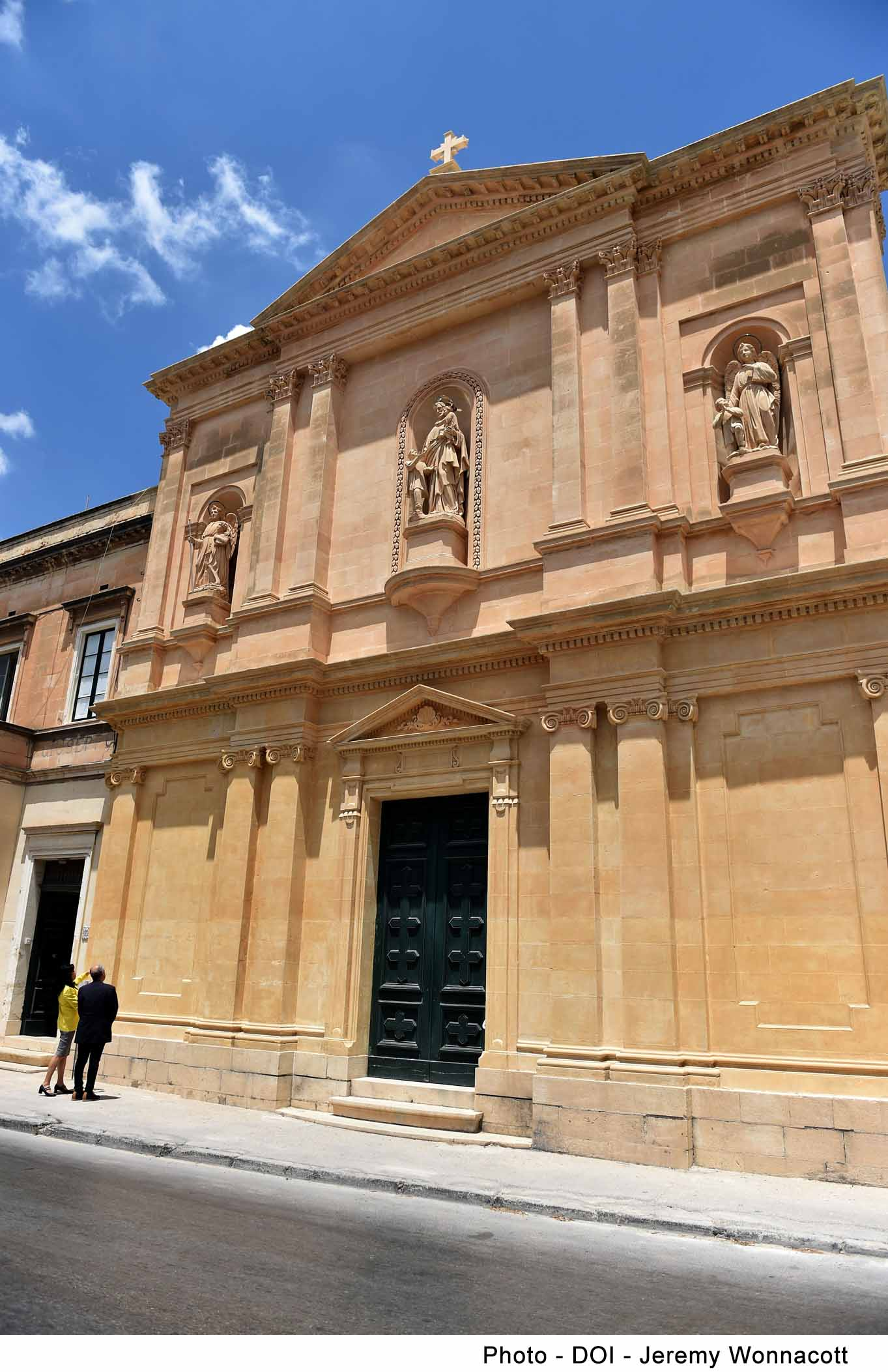 PRESS RELEASE BY THE MINISTRY FOR THE NATIONAL HERITAGE, THE ARTS AND LOCAL GOVERNMENT   Restoration has been completed on the façade and bell tower of St. Joseph's Church in Santa Venera