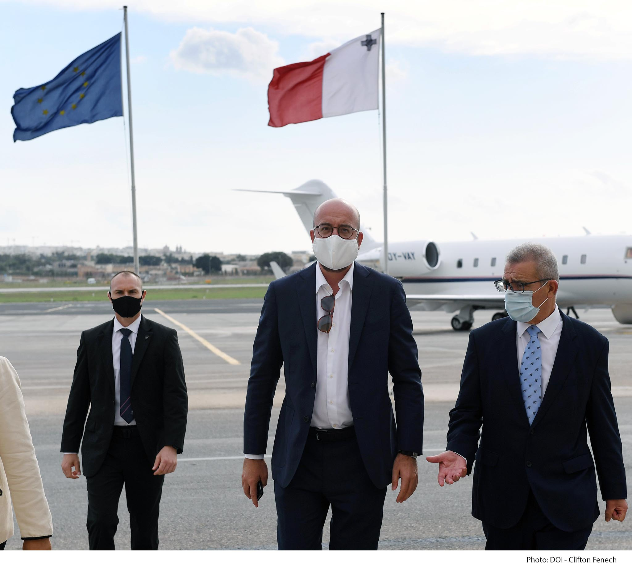 Official visit of the President of the European Council Charles Michel