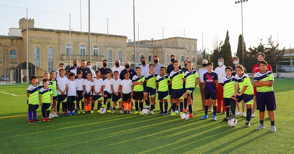 PRESS RELEASE BY THE MINISTRY FOR THE ECONOMY AND INDUSTRY: Football training enhanced with new material by the Responsible Games Foundation for 70 Mtarfa boys and girls