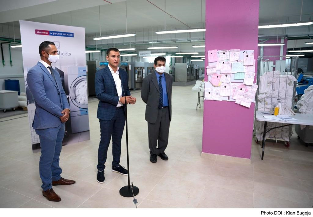 PRESS RELEASE BY THE MINISTRY FOR THE ECONOMY AND INDUSTRY: Half a million-euro investment by a local start-up perseveres during a pandemic