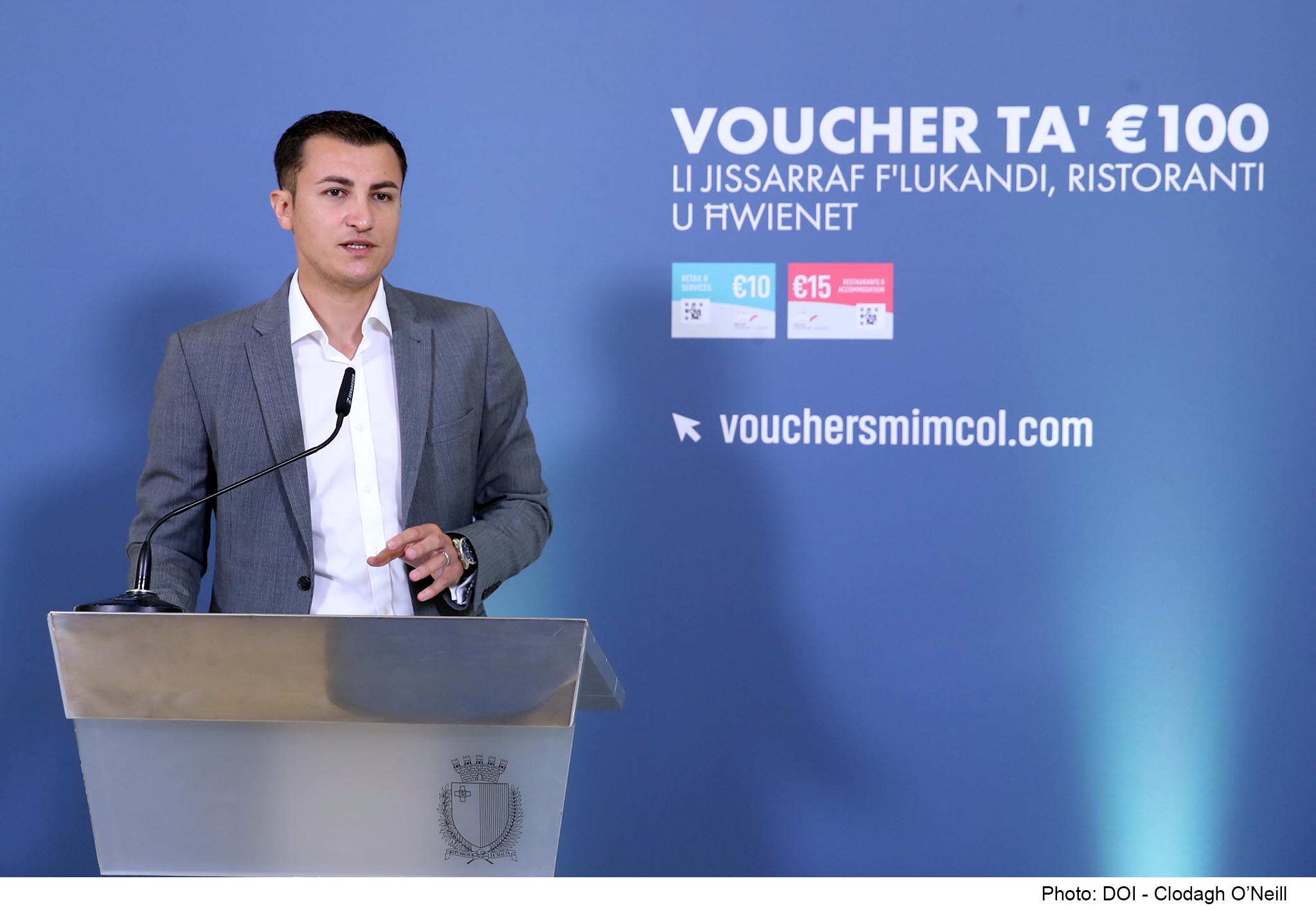 PRESS RELEASE BY THE MINISTRY FOR THE ECONOMY AND INDUSTRY: More than €16 million in vouchers have already been redeemed through 500,000 transactions