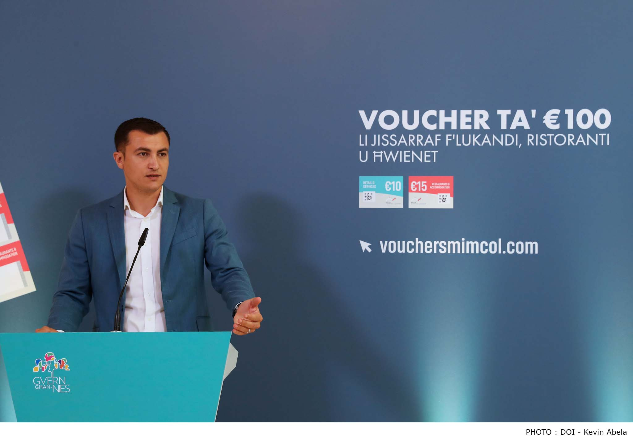 PRESS RELEASE BY THE MINISTRY FOR THE ECONOMY AND INDUSTRY Around €1.5 million injected into the economy during the first week of use of the €100 government vouchers